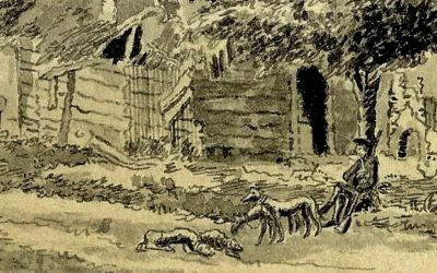 De dood van schout Theodorus Backer (1725)