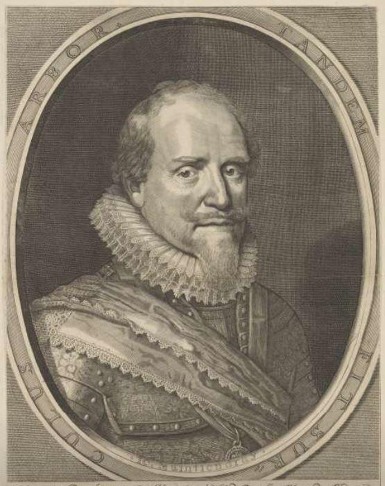 Maurits van Oranje-Nassau (bron: Rijksmuseum)