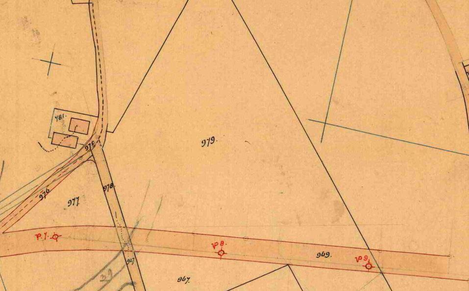 De Vork Odijk boomgaard kadaster kaart 1934