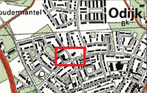 Kaart van scholen Bongerd en Bloemlust aan de Cornelis van Sandelaan in Odijk